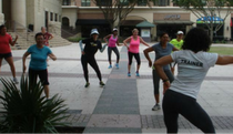 Zumba in the Plaza