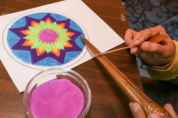 Sand Mandala Family Event