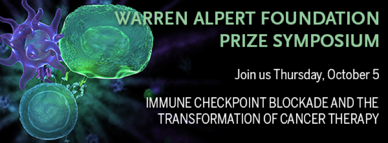 Warren Alpert Foundation Prize Symposium: Immune Checkpoint Blockade and the Transformation of Cancer Therapy
