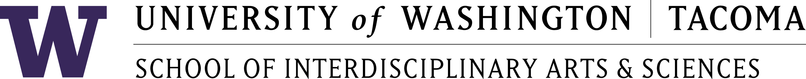 logo of the School of Interdisciplinary Arts and Sciences at the University of Washington Tacoma