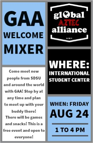 Global Aztec Alliance Mixer
