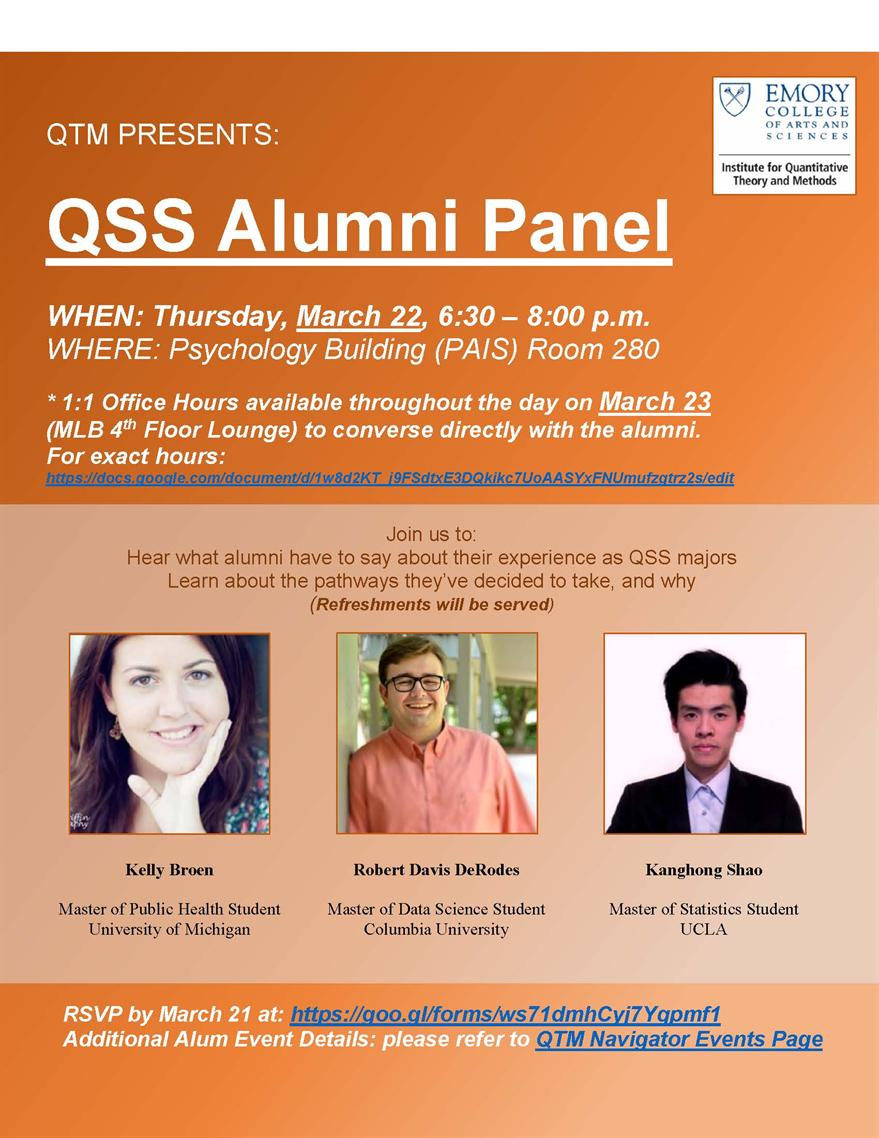 Career Pathways QSS Alumni Panel