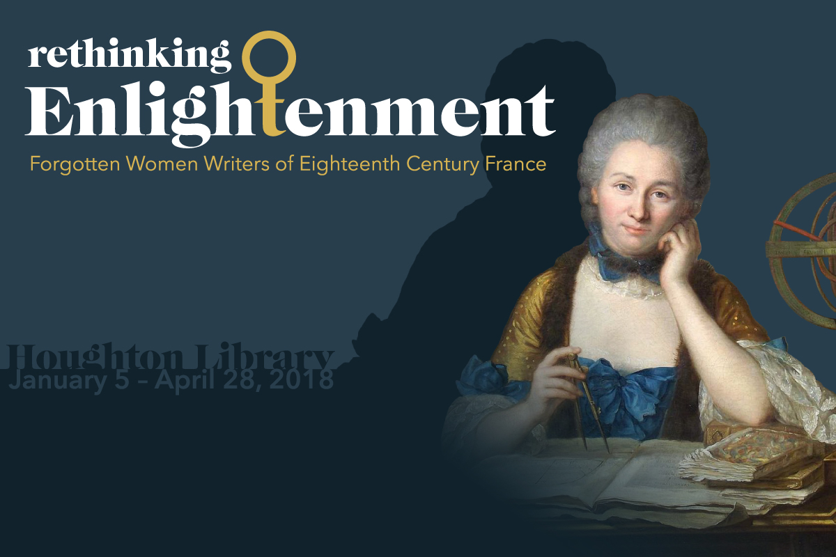 Rethinking Enlightenment: Forgotten Women Writers of Eighteenth Century France