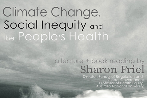 Book Reading: Climate Change, Social Inequity and the People's Health