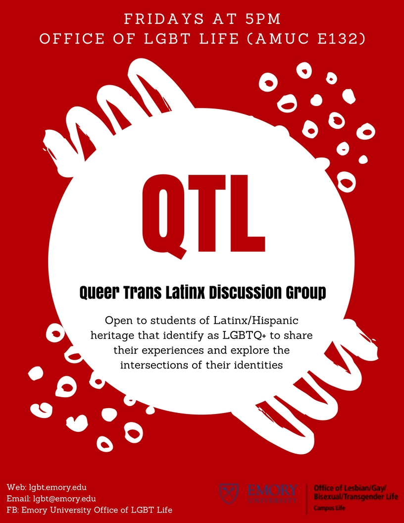 Queer Trans Latinx Discussion Group