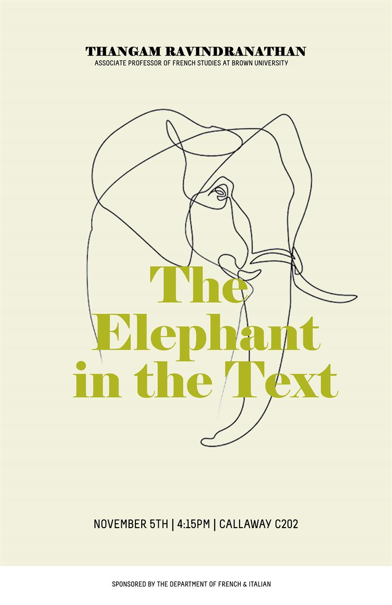 The Elephant in the Text