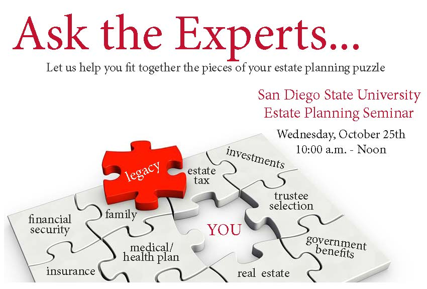 Ask the Experts - Free Estate Planning Seminar