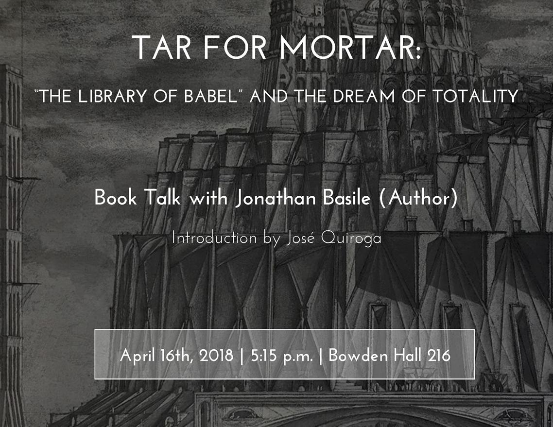 """The Library of Babel"" Book Talk"