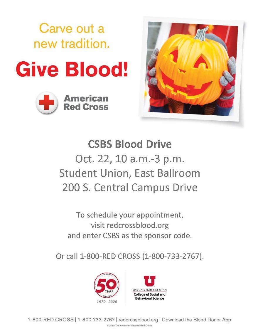 CSBS Blood Drive