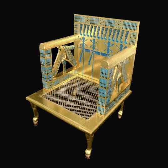 Harvard Treasures Tour: Recreating the Throne of Egyptian Queen Hetepheres