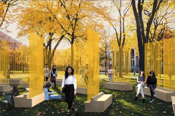 Autumn (…Nothing Personal): Teresita Fernández Public Art Installation