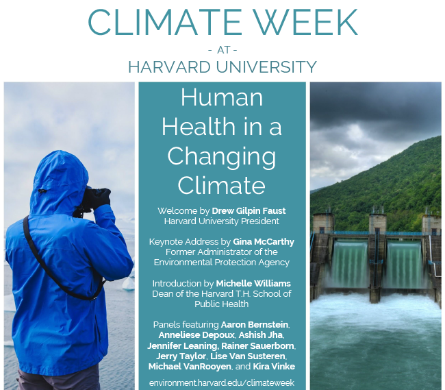 "Climate Week | ""Human Health in a Changing Climate"""