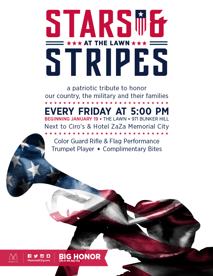 Stars & Stripes at The Lawn