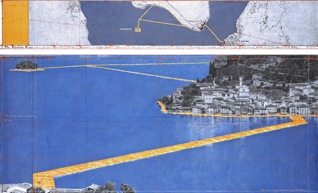 "Rouse Visiting Artist Lecture: Christo, ""The Floating Piers, Lake Iseo, Italy, 2014-16, and Two Works In Progress"""