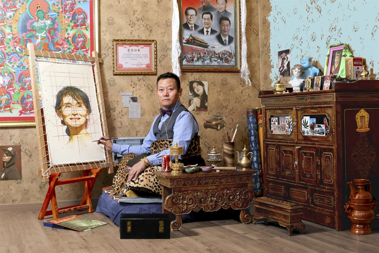 Tibetan Artist Gonkar Gyatso