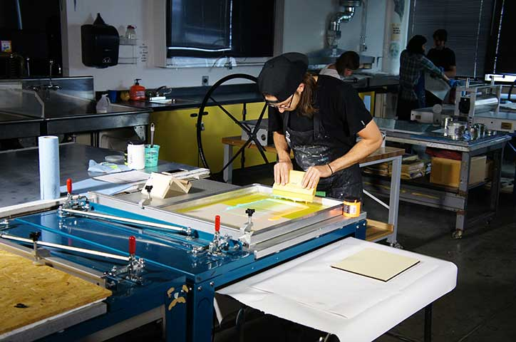 CVA: Screen Printing with Mark Friday