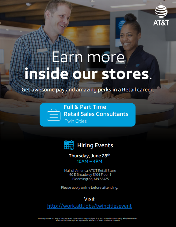 Twin Cities Hiring Event