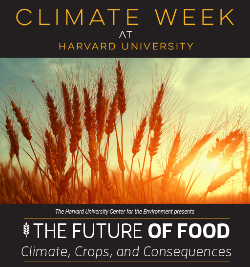 "Climate Week | ""Improving Agriculture in a Warmer World"""