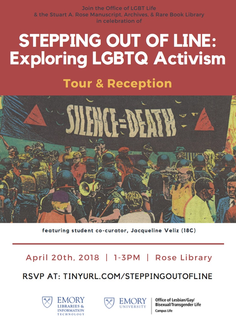 Tour & Reception - Exploring LGBTQ Activism