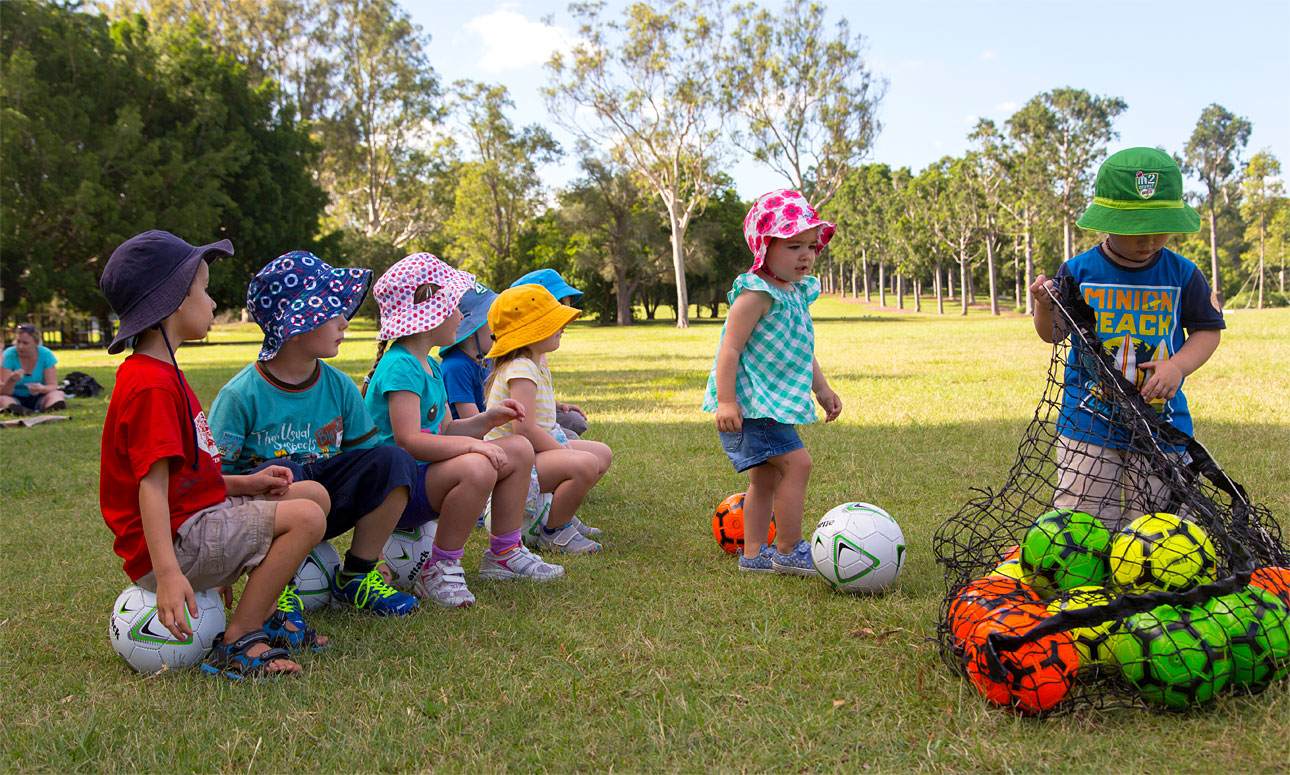 Soccer for tots (2-3 years)