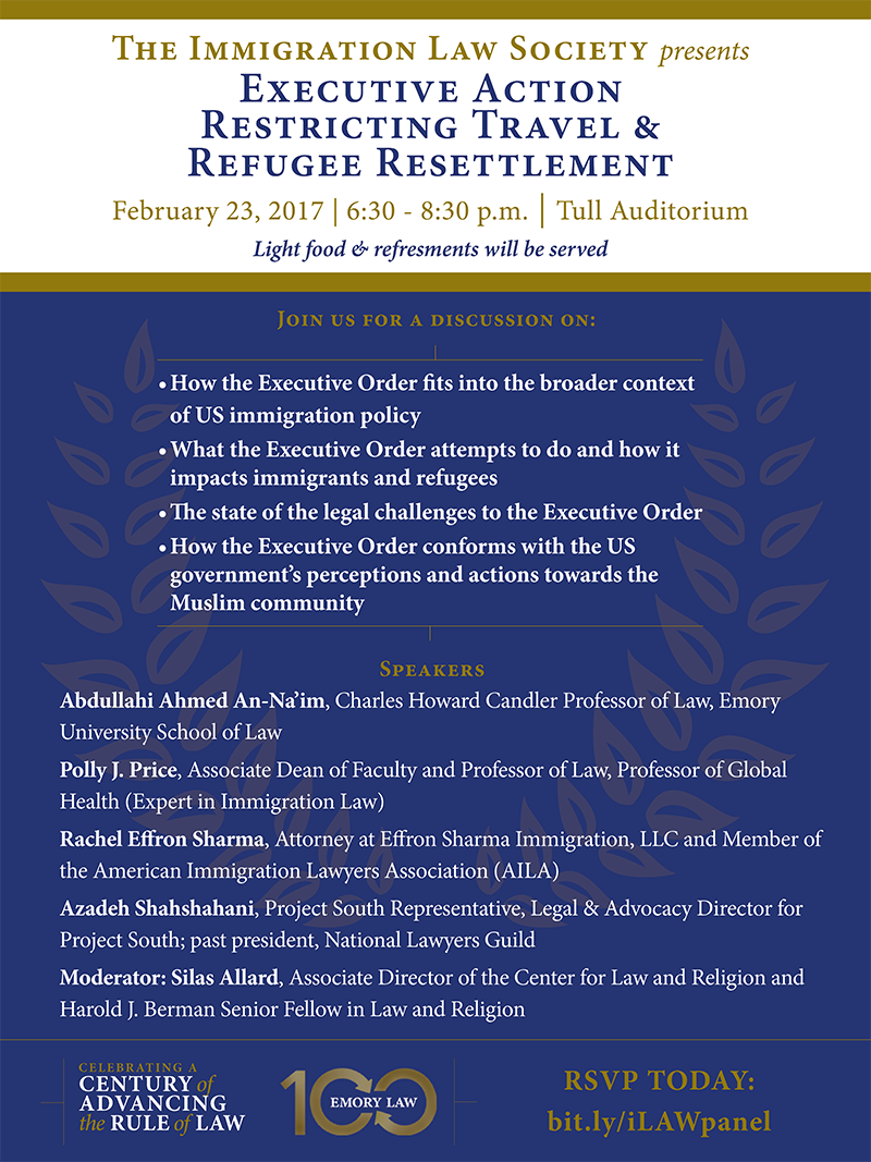 Executive Action Restricting Travel & Refugee Resettlement