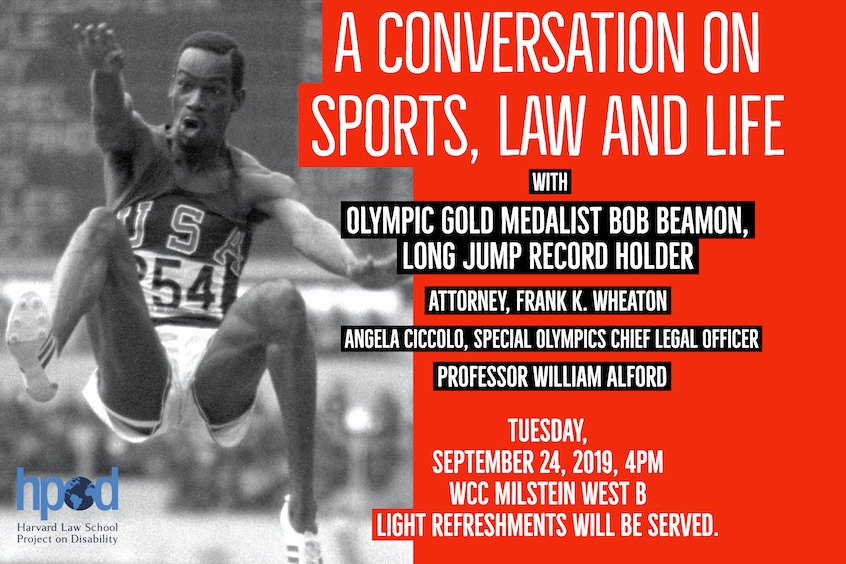 A Conversation on Sports, Law and Life