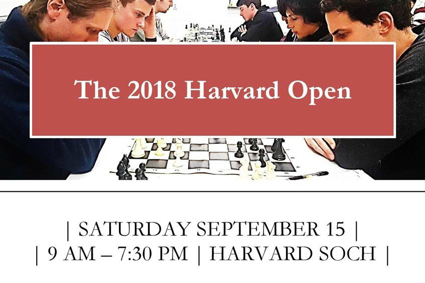 The 2018 Harvard Open