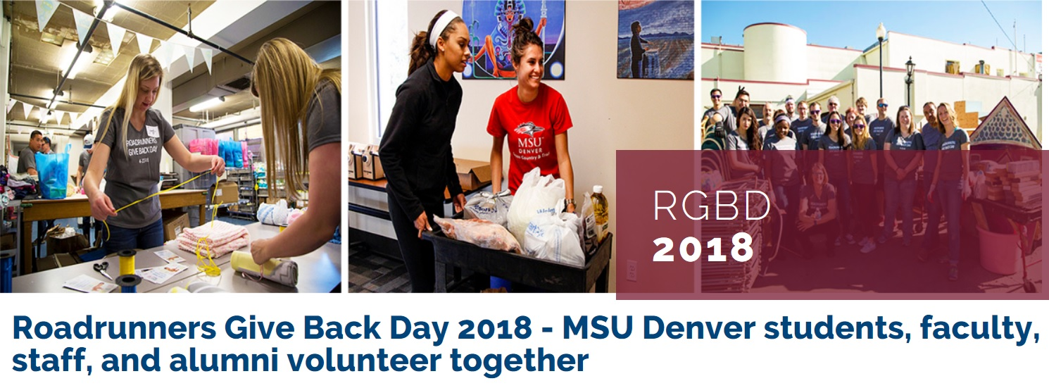 2018 Roadrunners Give Back Day