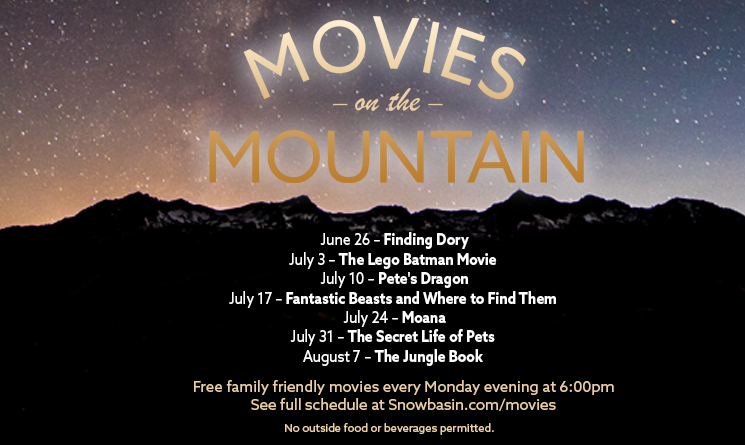 Movies on the Mountain Featuring The Lego Batman Movie