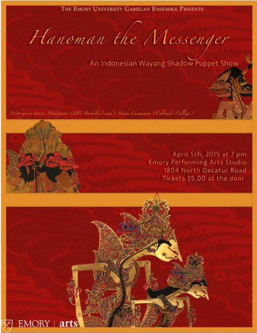 Hanoman the Messenger: a Traditional Indonesian Shadow Puppet Show