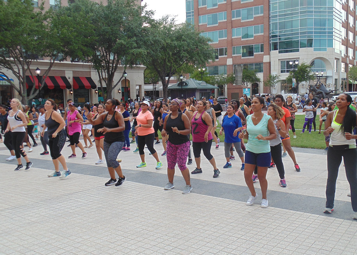 Boot Camp in the Plaza