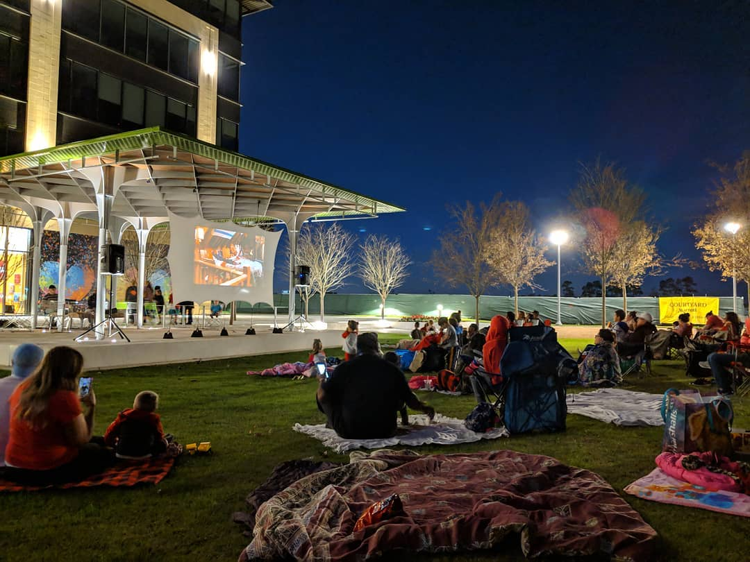 Summer Movie Nights at Redemption Square