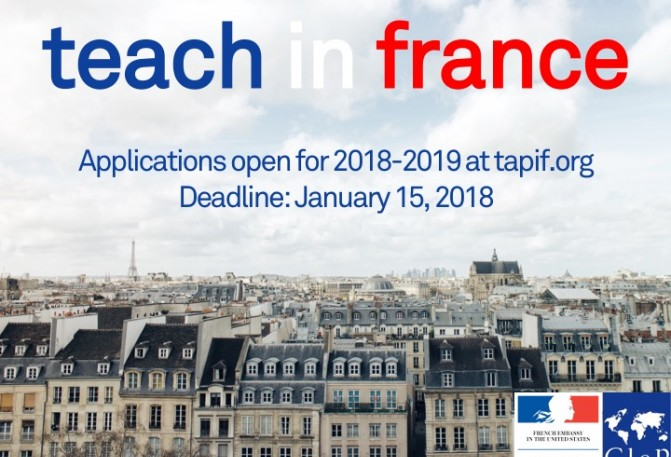 Teaching English in France - TAPIF Information Session