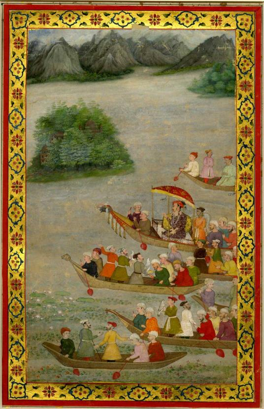 On the Threshold of Paradise: Poetry and Painting in Mughal Kashmir