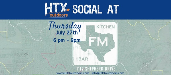 HTXoutdoors Social at FM Kitchen