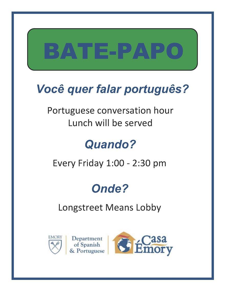 Portuguese Conversation Hour