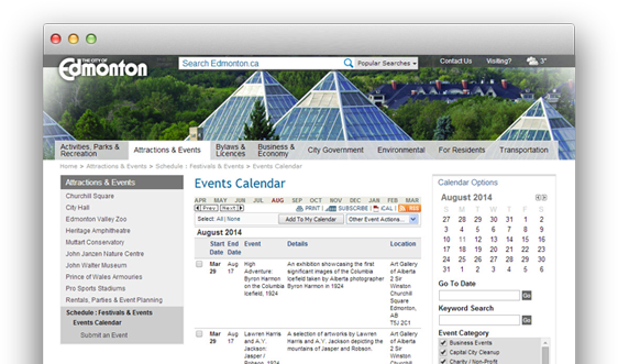 Trumba - Online Website Calendar and Event Registration Software