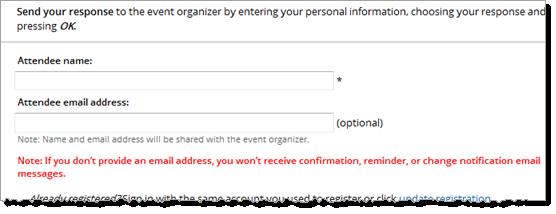 Trumba help set up event registration no email warning message stopboris Gallery