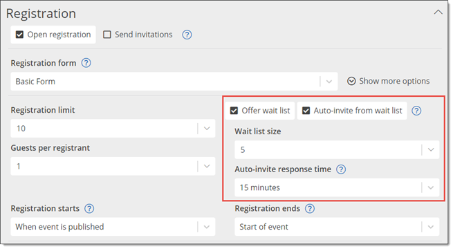 Trumba Help: Manage event registration responses