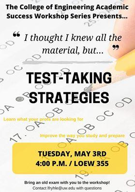 CoE Test-taking Strategies