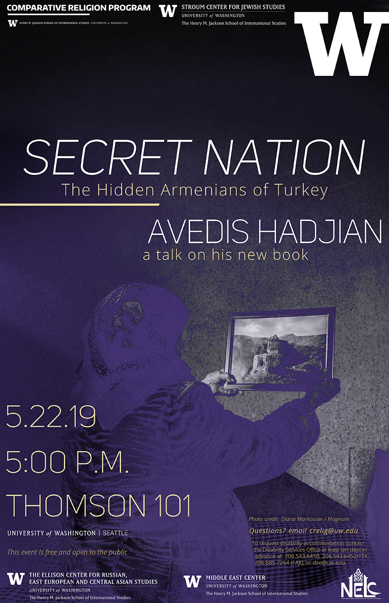 TALK | Secret Nation: The Hidden Armenians of Turkey | Avedis Hadjian