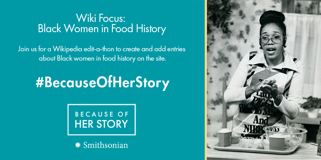 Wiki Focus: Black Women in Food History