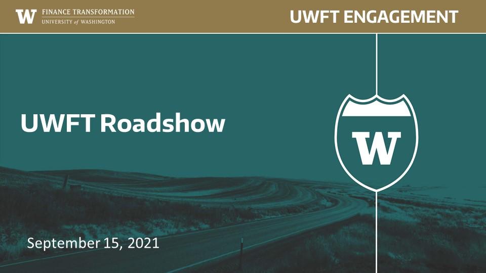 UWFT Roadshow
