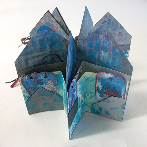 Star Book with Pockets and Inserts