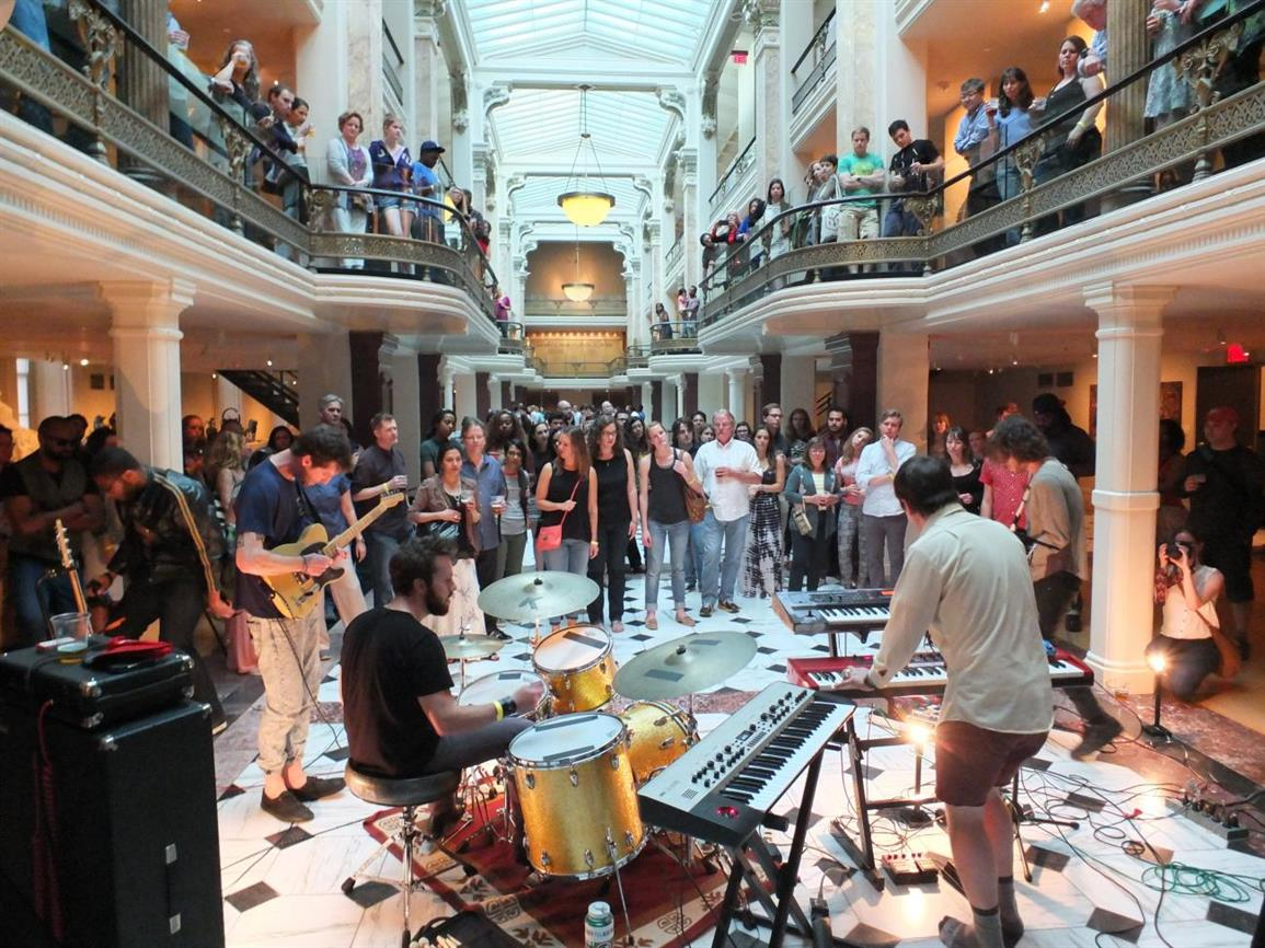 For the Record: Ten Years of Luce Unplugged at SAAM