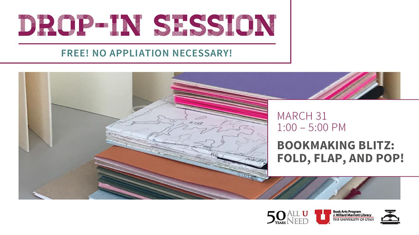 Drop-in Session: Bookmaking Blitz!