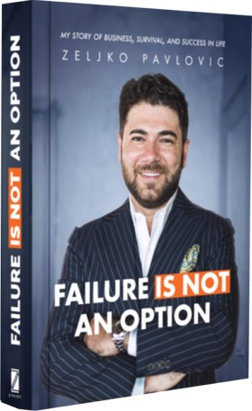 Failure is not an option: Booking signing by Zeljko Pavlovic