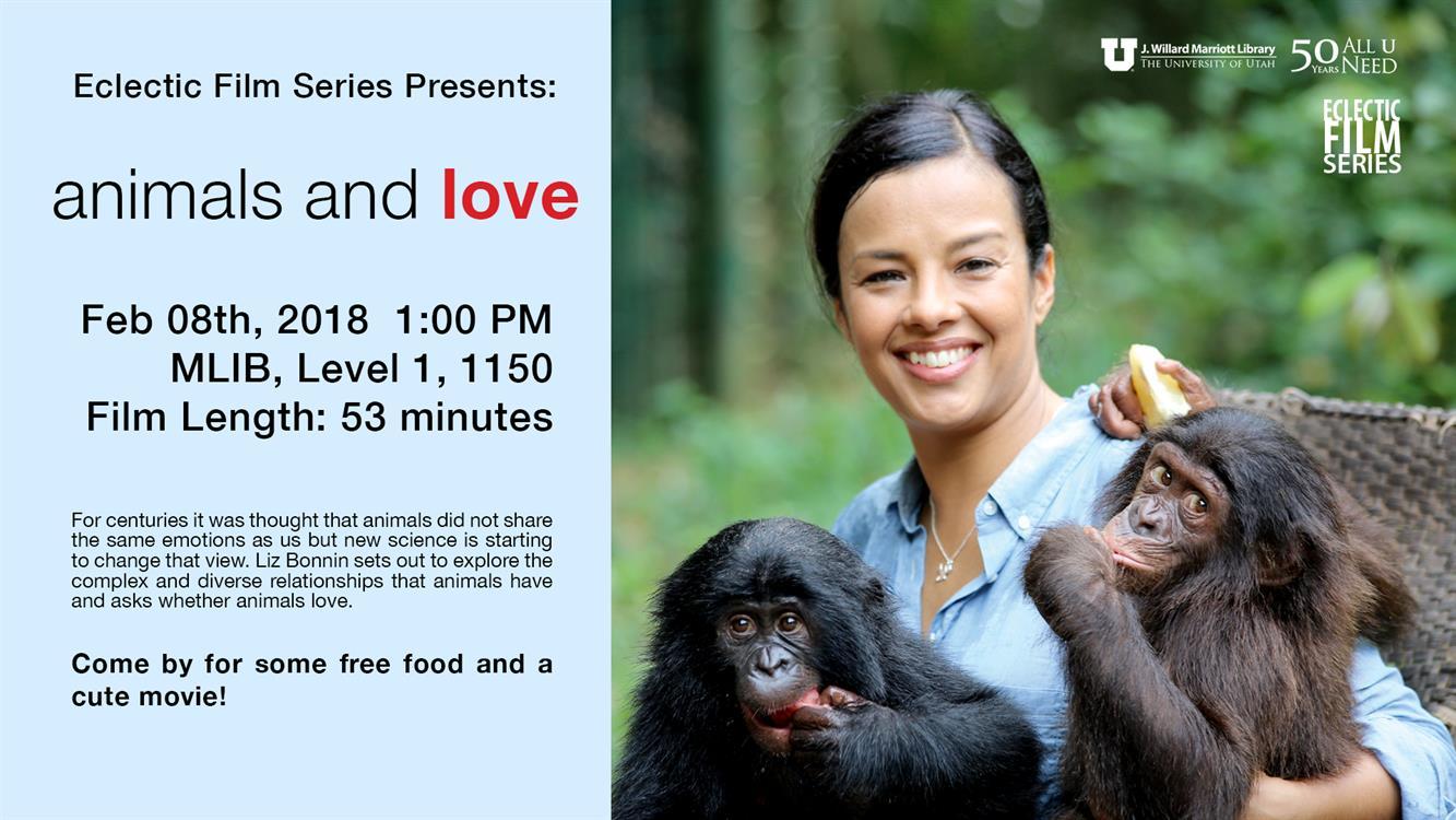 Free Film & Food: Animals and Love