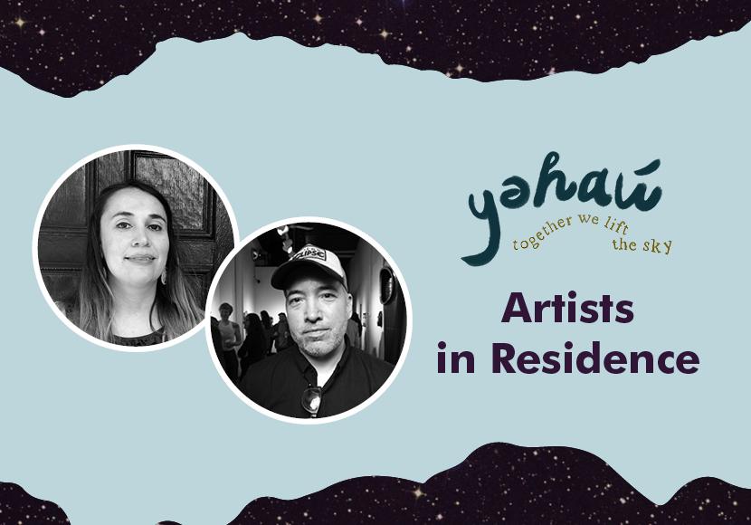 yəhaw̓ Artist Residency - Native Kut - Pah-tu Pitt & Sean Gallagher