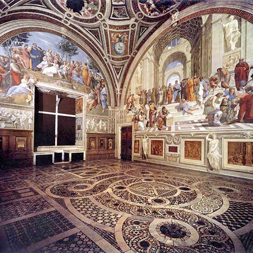 Raphael and the Papal Apartments